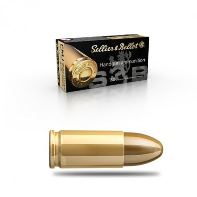 SELLIER BELLOT 9mm LUGER FMJ 7,5g 50ks