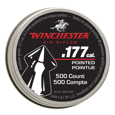 Diabolky WINCHESTER POINTED 4,5mm 500ks