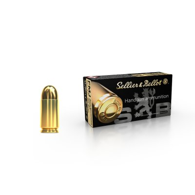 SELLIER BELLOT 9mm BROWNING COURT .380 AUTO  FMJ 6g 50ks