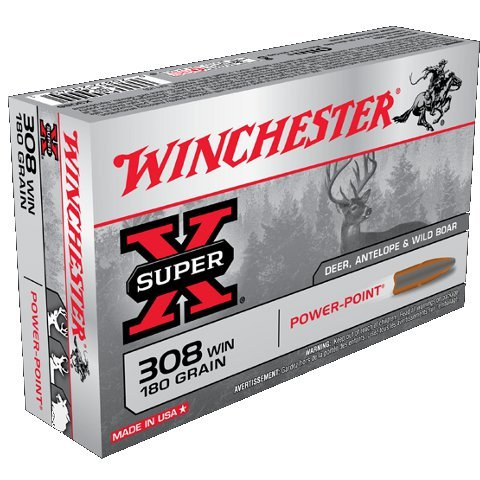 WINCHESTER 308WIN 180gr SUPER-X POWER POINT