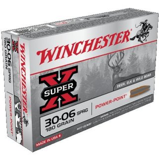 WINCHESTER 30-06 Spr. 180gr SUPER-X POWER POINT