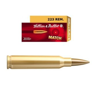 SELLIER BELLOT 223 REMINGTON HPBT 5g 20ks