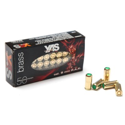 Nábojka YAS 9mm P.A.Knall BRASS 50ks