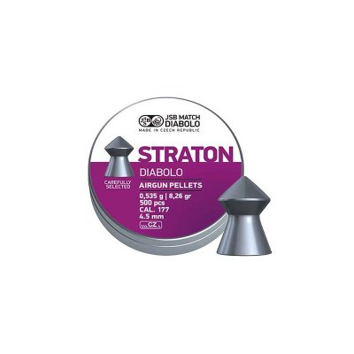Diabolky JSB MATCH STRATON 4,5mm 500ks