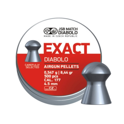 Diabolky JSB MATCH EXACT 4,5mm 500ks