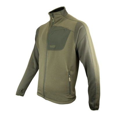 Bunda JACK PYKE ASHCOMBE TECHNICAL FLEECE ZELENÁ
