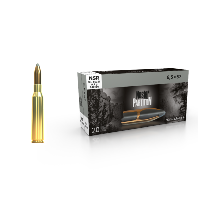 SELLIER BELLOT 6,5x57 NSR 9,1g 20ks