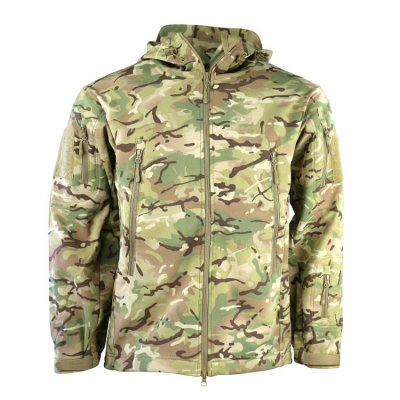 Bunda KOMBAT softshell TACTICAL PATRIOT BTP