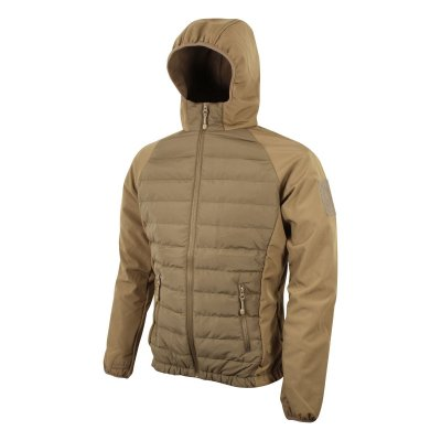 Bunda SNEAKER VIPER softshell/fleece COYOTE