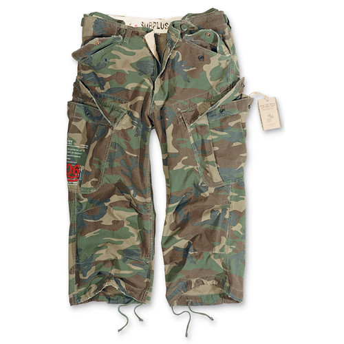 Kraťasy 3/4 Engineer Pants woodland