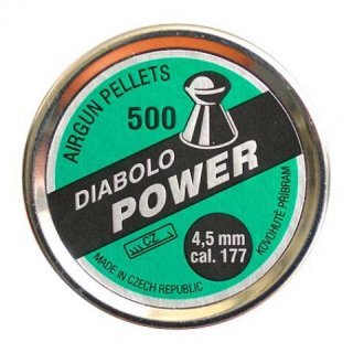 Diabolky POWER 500, 4,5mm (.177)