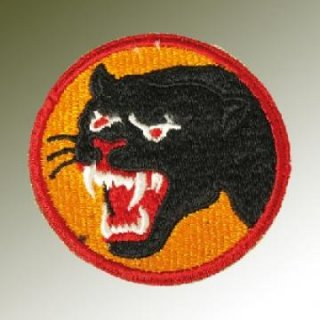 Nášivka US 66th Div./BLACK PANTER/, WW II