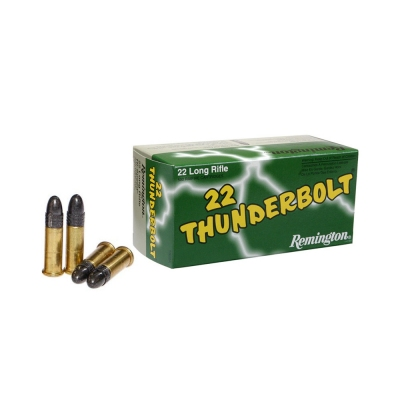 Remington .22LR THUNDERBOLT 40gr HIGHT VELOCITY RN 50ks