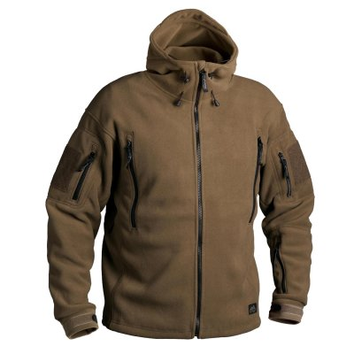 Bunda HELIKON PATRIOT Heavy fleece COYOTE